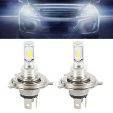 H4 6000k 9003 HB2 SUPER WHITE CSP LED Headlights Bulbs Kit High Low Beam Canbus