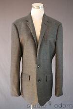$525 JCrew Ludlow Suit Jacket Nailhead Italian Wool Double Vent 40 R Gray 97978