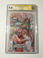 Amazing Spider-man Renew Your Vows 1 CGC 9.8 SS Signed Tyler Kirkham Variant