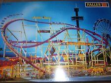 Faller Kirmes 140451 Achterbahn , NEU / Folie, selten