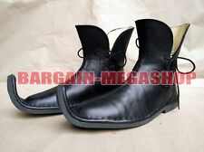 Medieval Leather Shoes Viking Middle Ages Period Footwear Reenactment Faire Shoe
