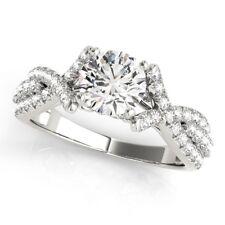Engagement Ring 950 Platinum Size 5.5 1.00 Ct Genuine Real Round Cut Diamond