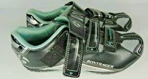 Women's Bontrager Inform Solstice Sz 9.5 US Black Road Bicycle Cycling Shoes