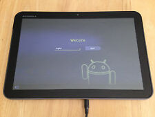 "MOTOROLA XOOM 32GB Wi-Fi BLACK 10.1"" TABLET 10HR BATTERY FLAWLESS 4.1.2 FREE SHI"
