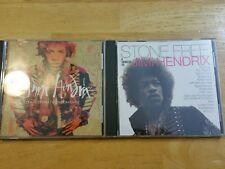 2 Jimi Hendrix Music CDs. The ultimate experience. Stone Free Jimi H Tribute