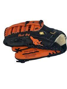 "Nike PPRO Pro Gold 1275"" Baseball Glove Left Hand Throw"