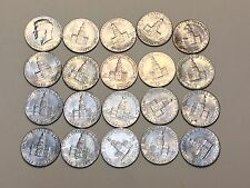 1776-1976 Bicentennial Kennedy Half Dollar 50c roll, lot of 20 coins, $10FV
