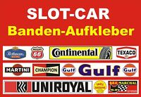 Slotcar LEITPLANKEN BANDE Aufkleber 100 x 3,5cm HI-DESIGN     85959