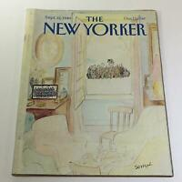 The New Yorker: September 22 1980 Full Magazine/Theme Cover Jean-Jacques Sempe