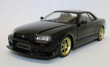 Greenlight 1/18 Diecast Model Car 19030 - 1999 Nissan Skyline GT-R R34 - Black