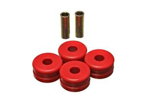 Energy Suspension 7.7102R Red Front Strut Arm Bushings for 68-73 Datsun 510