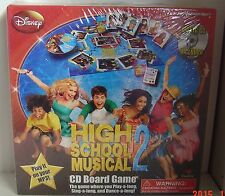 High School MUSICAL 2 HSM Music CD BOARD Game TV NEW Sealed FAST SHIP