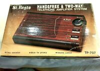 St Regis VTG  Two-Way Telephone Amplifier Speaker Hands free System NIB H110