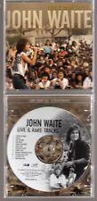 JOHN WAITE: LIVE & RARE TRACKS CD BAD ENGLISH THE BABYS AOR ROCK OUT OF PRINT