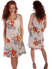 Knielange S Damenkleider für die Freizeit