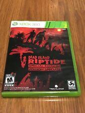 Dead Island: Riptide -- Special Edition (Microsoft Xbox 360, 2013) Complete!