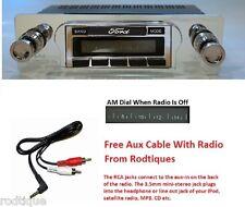 1960-1962 Ford Galaxie Radio iPod Dock USB + 300 Watt Stereo 630 II **