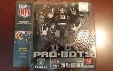 Nfl Players Pro-Bots Robot Action Figure Nip Darren McFadden Raiders Rare Ser Ii