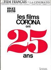 Le Film Français N° 1350/1970 - Les Films Corona 25ans Prix des VCR Post-Synchro
