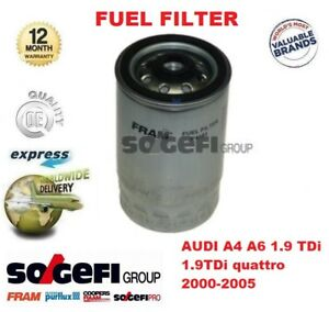 FOR AUDI A4 A6 1.9 TDi + 1.9TDi quattro 2000-2005 FRAM SOGEFI FUEL FILTER
