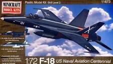 Minicraft F-18 US Naval Aviation Centennial 1:72 VFA-204/122 NAVY Modell-Bausatz