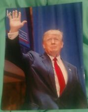 DONALD TRUMP SIGNED 8X10 PHOTO 45TH PRESIDENT OF THE USA WAVE W/COA+PROOF