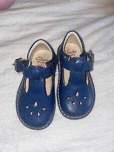 infant girls clarks shoes size 4.5G