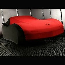 C6 Corvette 2005-2013 GM Outdoor Car Cover w/ Crossed Flags Logo - Select Color