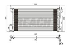 A/C Condenser-GAS Reach Cooling 31-3379