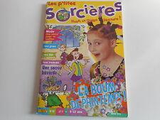 LES P'TITES SORCIERES N° 18 MARS 2001 - LA BOUM DE PRINTEMPS