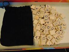 Scrabble Crossword Game Replacement Tiles 100 pcs 2008