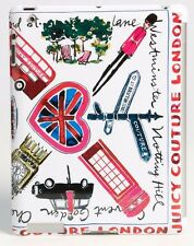 JUICY COUTURE LONDON PRINT HARD SHELL FITTED/MOULDED iPAD 3 CASE BNIB RETAIL £55