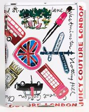 JUICY COUTURE LONDON PRINT HARD SHELL FITTED iPAD 3 CASE BNIB RETAIL £55