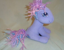 """My Little Pony Tink A Tink A Too Plush Sitting Purple w/ Bells Hasbro 2004 6"""""""