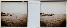 Megara Pachi ? Grèce Stereo Félix Sartiaux 45x107mm Plaque pos ca 1911