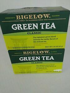 Lot of 2 Tea BIGELOW GREEN TEA with Antioxidants NIB