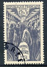 STAMP / TIMBRE FRANCE OBLITERE N° 879 JOURNEE DU TIMBRE 1951
