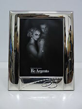 Cornice Portafoto Lucida con Fedi Nozze Elite cm.15x20 in Argento 925%°