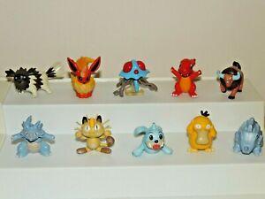 Lot Of 10 Vintage Pokemon TOMY CGTSJ...