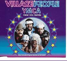 Village People Y.M.C.A. (1993 Remix) contains 3 versions + Go West CD Sgl Europe