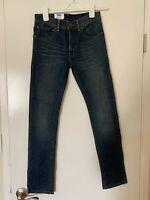 New Men's/Boys Levi's 510 Super Skinny jeans Size 16 Regular 28x28