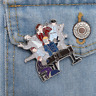 Kpop BTS Bangtan Boys Pin Badge Brooch Chest Pin Button SUGA JIN V JIMIN UK