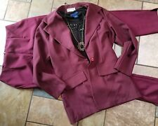 womens clothing lot outfit career, sz med 8 10 pants blouse blazer necklace