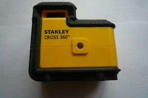 Stanley This CROSS 360 Red Beam Line Laser Level