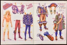 Prince Charming Paper Doll by Barbara Rausch Mag. Paper Dolls, 1993