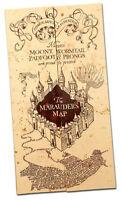 Harry Potter Hogwarts The Marauder's Map Of Wizarding World Christmas Magic Gift