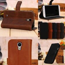 Luxury Executive Leather Wallet Cover Flip Case For SAMSUNG GALAXY Models