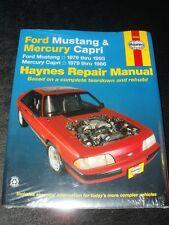 Ford Mustang Mercury Capri Automotive Repair Manual by etc., Larry Warren (Paper