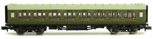 Dapol 2P-012-103 Maunsell Coach SR 3rd Class Lined Olive Green 780 N Gauge