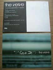 More details for the verve, the drugs don't work, a5 size promo postcard / sticker, mint